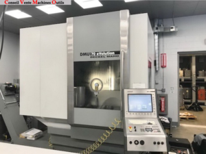 CENTRE D'USINAGE VERTICAL 5 AXES DMG DMU 70 EVOLUTION