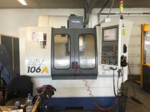 CENTRE D'USINAGE VERTICAL YCM MV 106