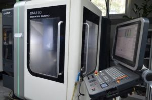 CUV5A DECKEL MAHO DMU 50 - 2010