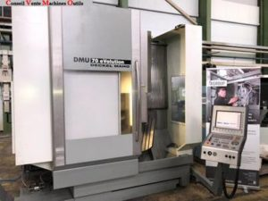CENTRE D'USINAGE VERTICAL 5 AXES DECKEL MAHO DMU 70 EVOLUTION