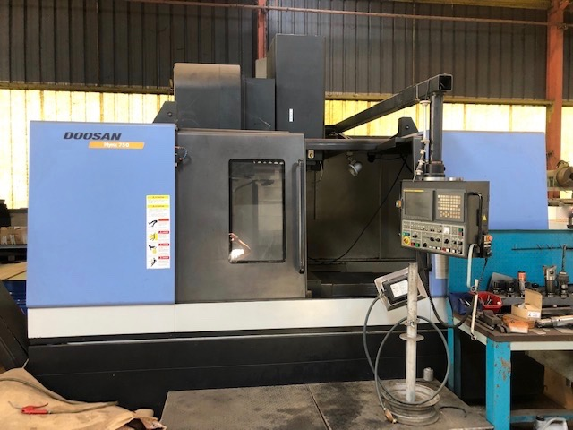 CENTRE D'USINAGE VERTICAL DOOSAN MYNX 750